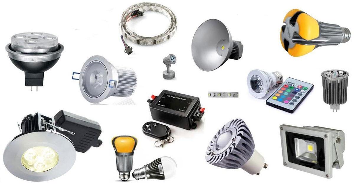 các mẫu đèn led sử dụng ngoài trời