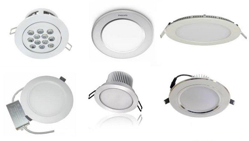 một số mẫu đèn led trong nhà